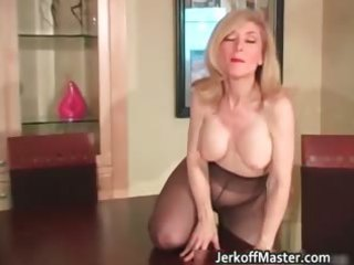 slutty blonde mum with large hooters part9