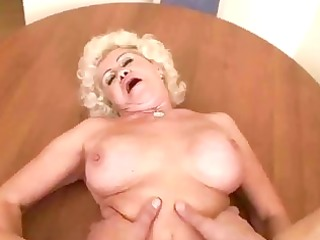 nasty granny acquires fucked in pov