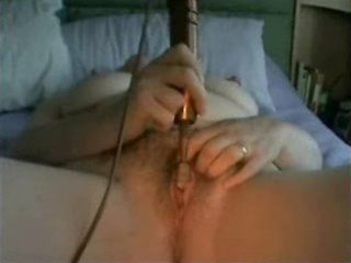 aged cums then has cum on her