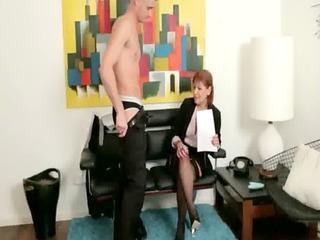 femdom older makes dude to get naked