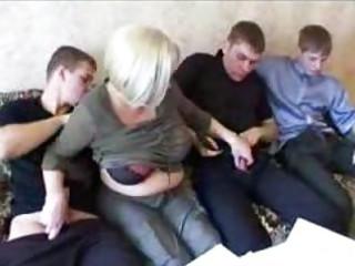 mama and three sons hot family sex fuckfest