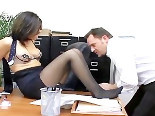 hardcore office sex with a busty secretary in