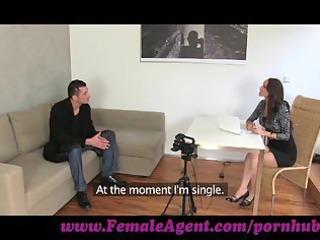 femaleagent. czech gigolo tests her skills