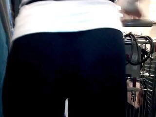 hot gazoo in leggings 1