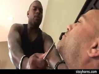 cuckold humiliation interracial sissy fuckfest