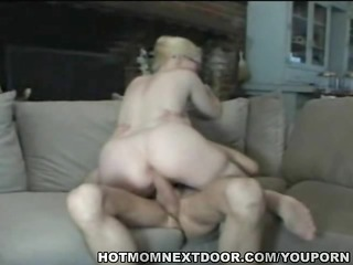 golden-haired d like to fuck acquires young cock