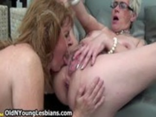 excited aged wife squirts all over her