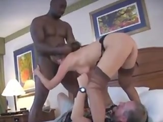 wife acquires a tag team-implacable boner
