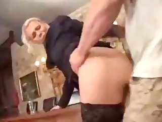 german porn with the blond boss lady getting a