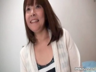 sexy japanese older housewife tricked