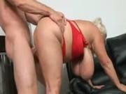 huge tit granny