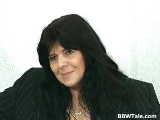 dark hair aged big beautiful woman slut acquires