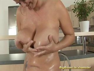 mommy with extraordinary large naturals