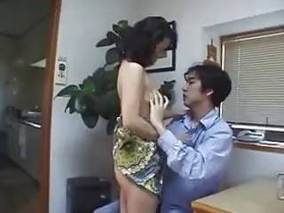 japanese mother finds penis at home ! uncensored