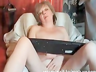 710 years granny louise fingering at home