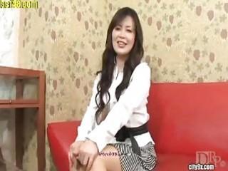 hot aged japanese lady with stocking 8 of 11