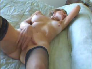 hawt blond granny can it when she is gets a large