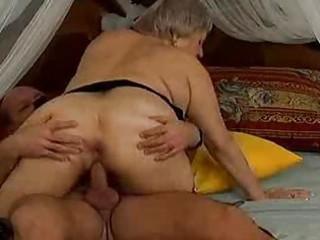 crazy old mommy receives spunk flow sex