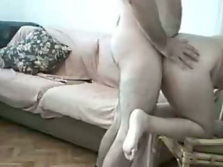 lascivious bulky amateurs fucking at home