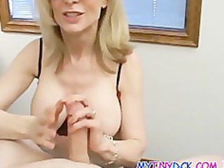 gorgeous blonde mother i with an apetite for dicks