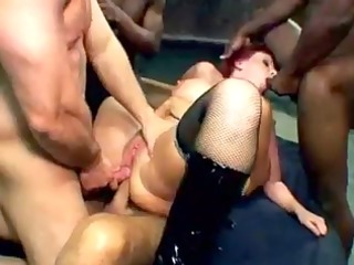 kylie ireland gangbanged and double analed