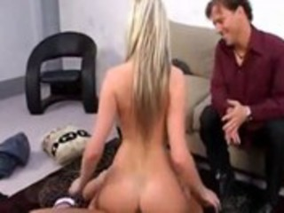 cuckold husband shares his wife with black chap