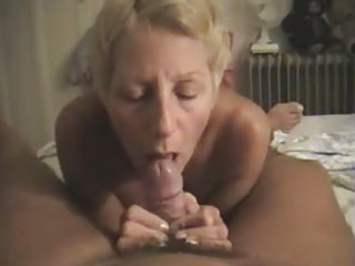 nudist filming his wife giving him a oral-job at