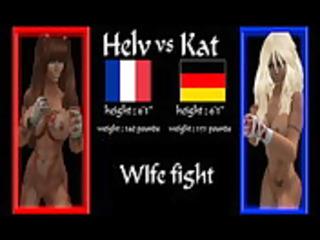 wife fight muay thai sl