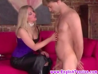 femdom english mother i scratching sub with her
