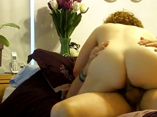 naked mom jumps on dad spy webcam
