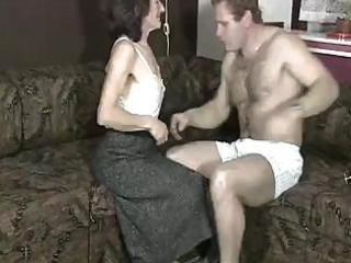 homemade sex video from a aged floozy with very