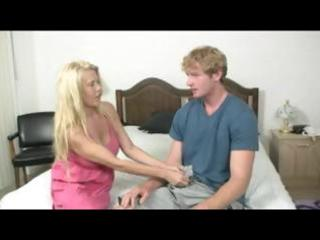 obese blond mature doxy releases his youthful