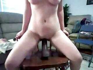 wife ride big toy