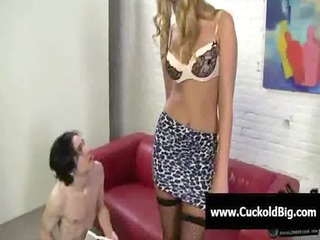 cuckold sessions - interracial three-some fuck 15