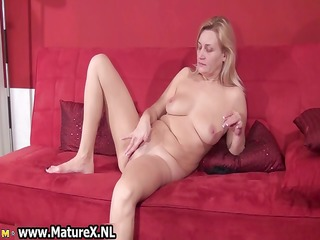 bawdy old bitch acquires all lascivious playing
