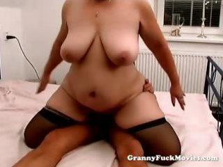 granny betty with large marangos