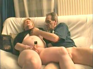 older non-professional sex clip