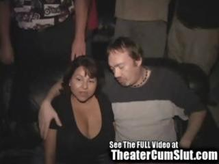 large titty latina d like to fuck acquires gang