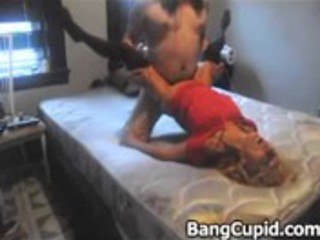 lustful wife rides on shlong and receives slammed
