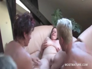mature bbw attending fuckfest takes shaft in cunt