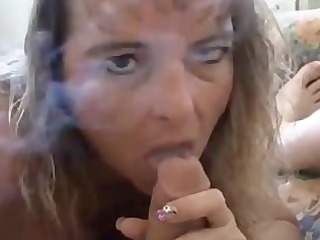 smoking bj/facial
