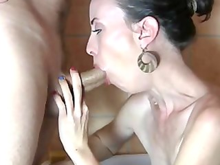 the flawless wife - throat and feet