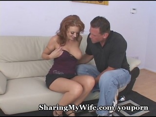 wifes fire crotch fucked by stud