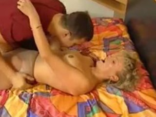 very shaggy german mature blond casting tryout