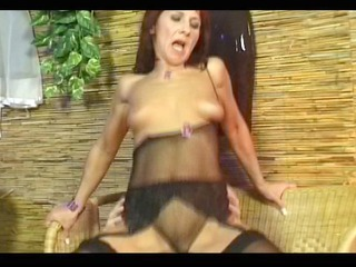 aged redhead earns her ejaculation