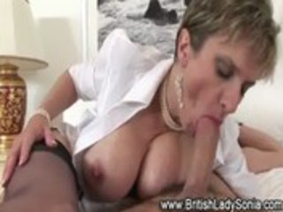 older stocking fetish doxy blowjob fuck