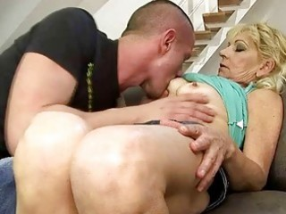 hot grandma fucking with her young paramour