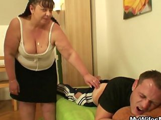my mother in law heals me with her cum-hole