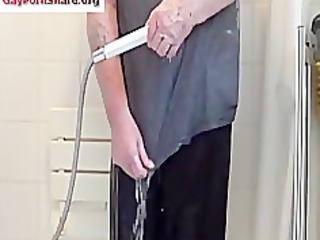 plastic panties shower