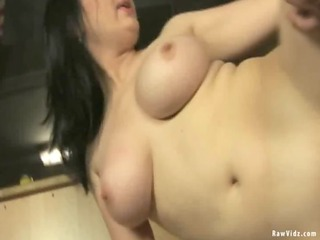 busty milf drilled hard with the toy